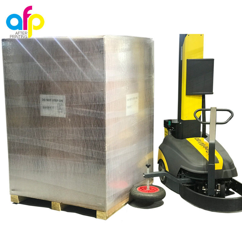 Factory supplied Packaging Laminate - 350 % Elongation 20'' X 5000' X 80 G Machine Stretch Film For Wrap –  After-printing