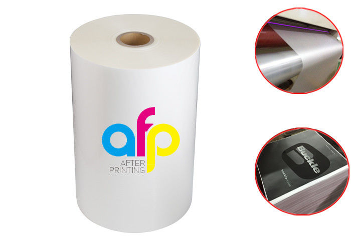 Soft BOPP Thermal Laminating Film Matte Lamination Film for UV Varnish