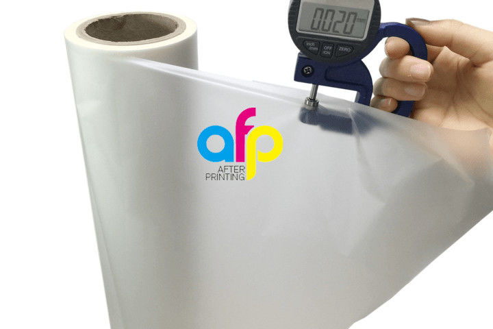 Wholesale Price China Anti Scratch Coating For Plastic - 20micron Matte Lamination Film 500mm*3000m Roll Size SGS Certification –  After-printing