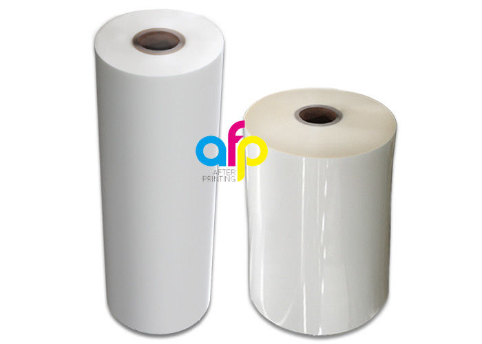 27 Micron Matte Lamination Film Rolls 700mm * 3000m / Custom Roll Size