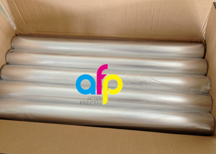 Factory making Printing On Foil Paper - Metallic Colors Bopp Holographic Film For Soft Plastic Stamping / PVC –  After-printing