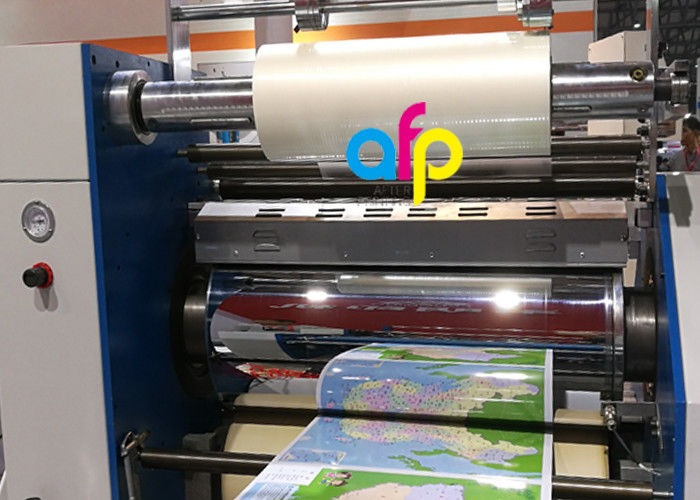 OEM Manufacturer Film Polyamide - BOPP Lustre Finish Glossy Thermal Lamination Film Transparency / Opaque –  After-printing