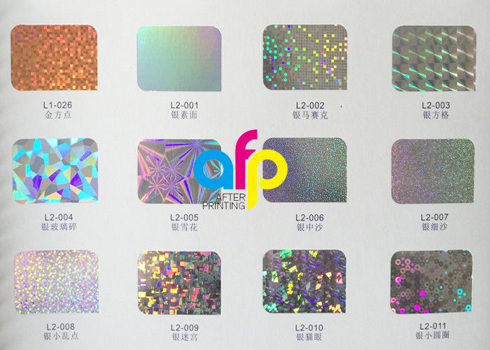 Popular Design for Foil Stamping On Leather - Silver/ Rainbow Hot Stamping Foil With Holographic / Laser Pattern –  After-printing
