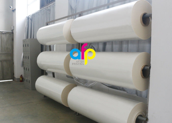 Chinese Professional Bopa Wrap - 22 Mic Gloss Laminating Film For Brochures / Magazines BV Approval –  After-printing