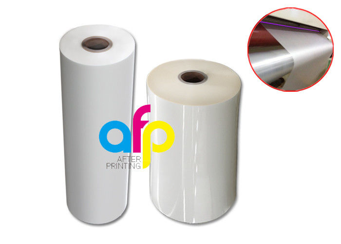 Professional China Heat Lamination Film - Single Corona Treatment Roll Laminating Film , Reducing Static Laminating Rolls –  After-printing
