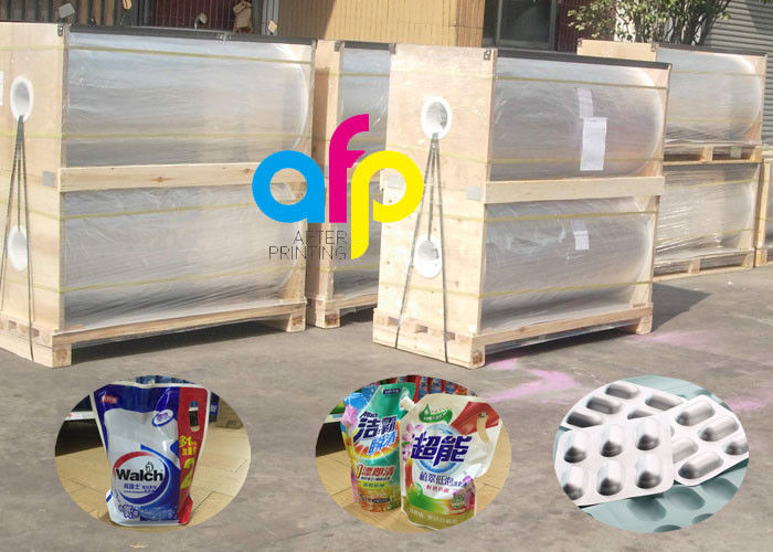 Pharmaceutical BOPA Nylon Film , Customized Width Soft Packaging Wrap Film
