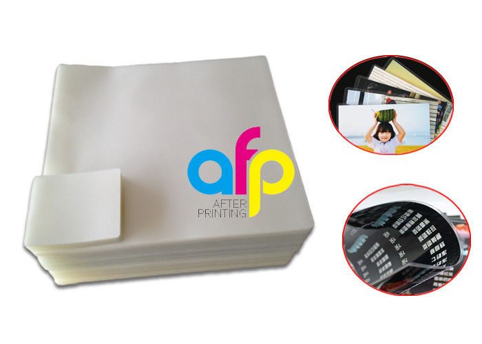 Factory wholesale Plastic Laminate - Dry PET Pouch Laminating Film Sheet For Office Document Lamination 60 Micron –  After-printing detail pictures