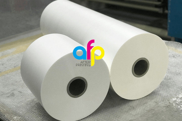 8 Year Exporter Matte Finish Laminate - 17-27micron BOPP Matte Lamination Film Roll 445mm*3000m Size BV Certification –  After-printing
