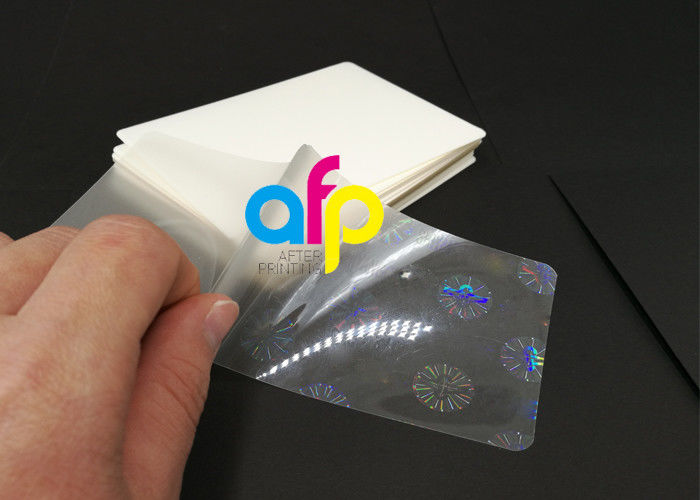 Personlized Products Business Card Laminating Machine - Hologram Laminating Pouches Matte Finish / Glossy –  After-printing