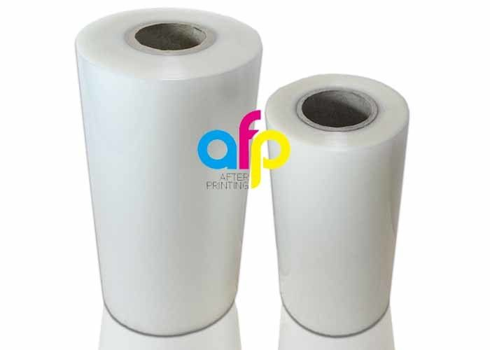 China wholesale Gold Glitter Adhesive Vinyl - Glossy / Matte Finishing Thermal Roll Laminating Film 250 Micron Thickness –  After-printing