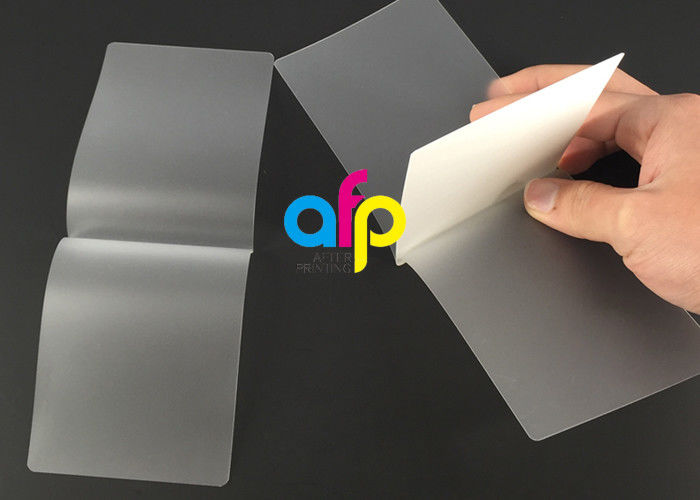 Card Membrane Clear Laminating Film / Pouch Laminating Film with Different Thickness