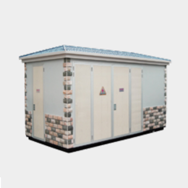 Good Quality Box Substation - YB-12/0.4(F·R)Outdoor prefabricated substation (European style) – AGP Electrical detail pictures