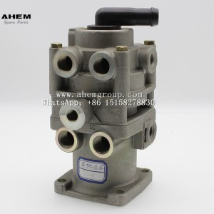 Factory Free sample Howo Parts - truck trail air brake valve foot brake valve wabco 4613190080 for benz MB4650  – AHEM