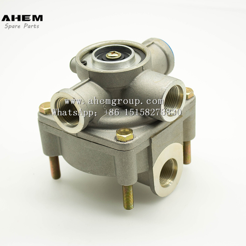 Chinese Professional Relay Valve Air Brake System - Truck trail relay valves brake valves wabco 9730010100 for man iveco  – AHEM Featured Image