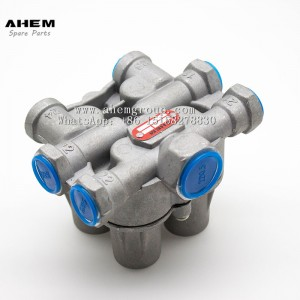 Four circuit protection valve AE4162  for truck,trailer and bus