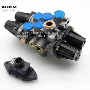 2020 High quality Air Pressure Protection Valve - Truck trail air brake valve four circuit protection valve wabco 9347050050 for benz daf man  – AHEM