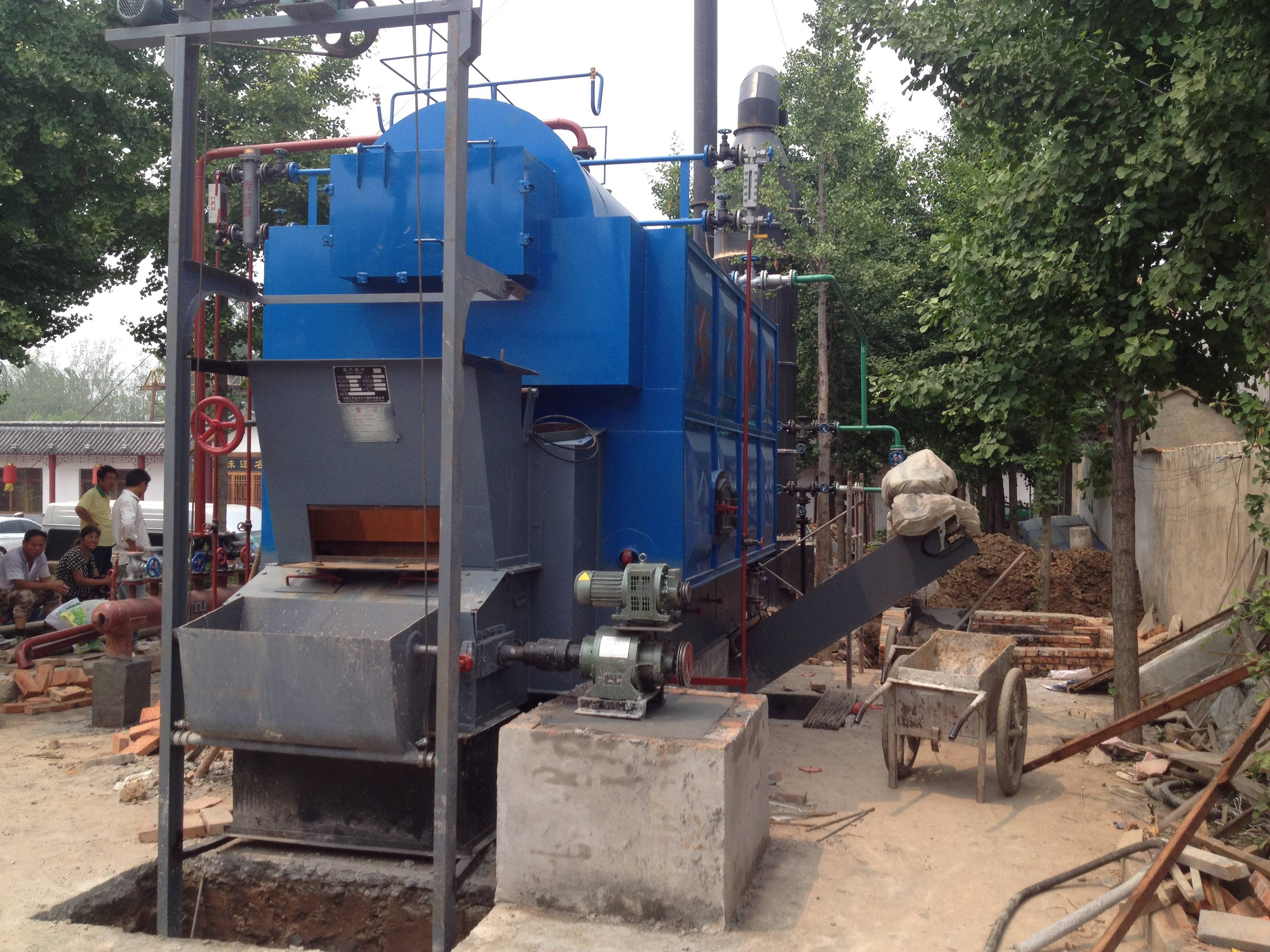Vietnam Customer DZL Coal Fired Steam Boiler