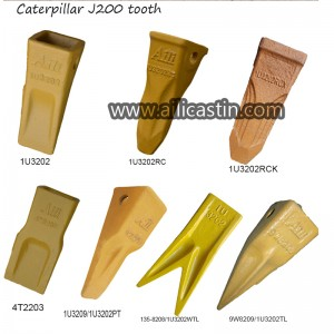 Aili Bucket tooth manufacturer supports Carterpilliar J200 bucket tooth 1U3202 1U3202RC 1U3202RCX