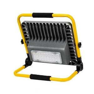High Lumen Adjustable Charging Road Emergency LED Floodlight IP65