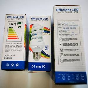 Spiral 9w Led Energy Saving Lamp E27 or B22 base with SMS LED for School