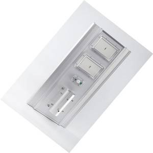 Hot New Products Integrate Solar Garden Light - all in one solar street light aluminum housing – Aina