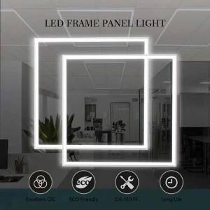 LED Panel Frame Light Square Version for Office and Shopping Center
