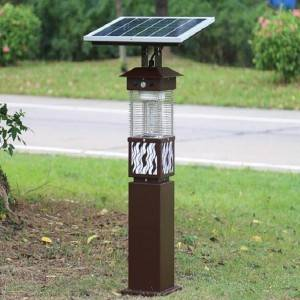 China New Product Exterior Solar Led Flood Lights - Outdoor Using Solar Rechargeable Mosquito Killer Garden Light – Aina