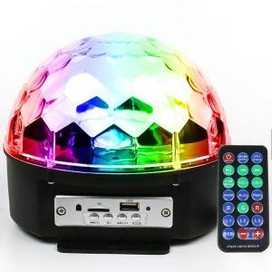 Big Size Magic Ball Party Light RGB Disco Light with Remote Controller