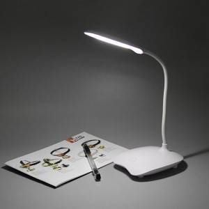 3AA Battery Table Lamp LED Stand Modern Touch or Press Switch Eye protection Light