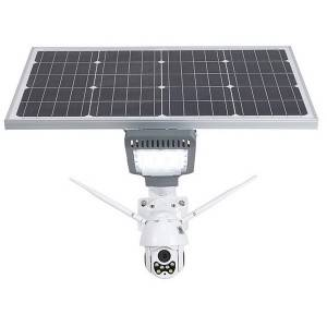 solar street light with camera 100w