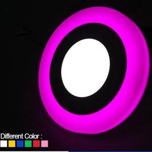 Trending Products Led Recessed Downlight - Insert Round Two color down light – Aina