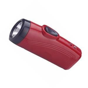 Mini Design Series Portable Rechargeable Hand hold Flash Light for Emergency Case