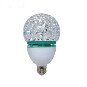 IP33 Plastic Lamp Body 360 degrees Rotation LED Disco Light bulbs for Party