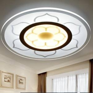 China OEM Led Ceiling Light Fittings - New Products Living Room Gig Round Modern Led False Ceiling Light Color Changing – Aina