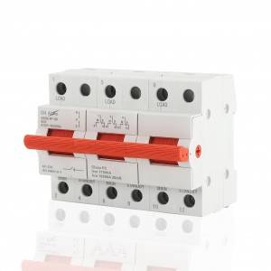 3P 63A Manual Transfer Changeover Switch