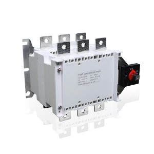 630A 3P Manual Changeover Load Isolation Switch