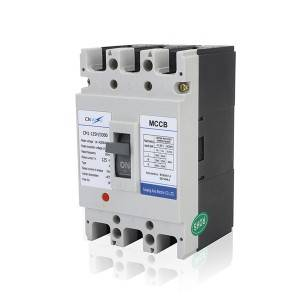 H Type 125A 3Pole MCCB Moulded Case Circuit Breaker