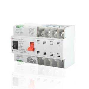 New Design 16A To 100A 4P Automatic Changeover Switch