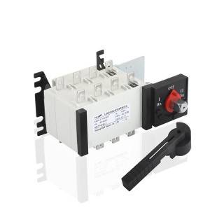100A 4P Manual Changeover Load Isolation Switch