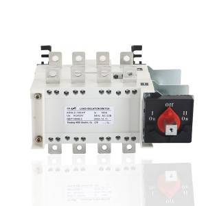 160A 4P Manual Changeover Load Isolation Switch
