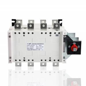 400A 4P Manual Changeover Load Isolation Switch