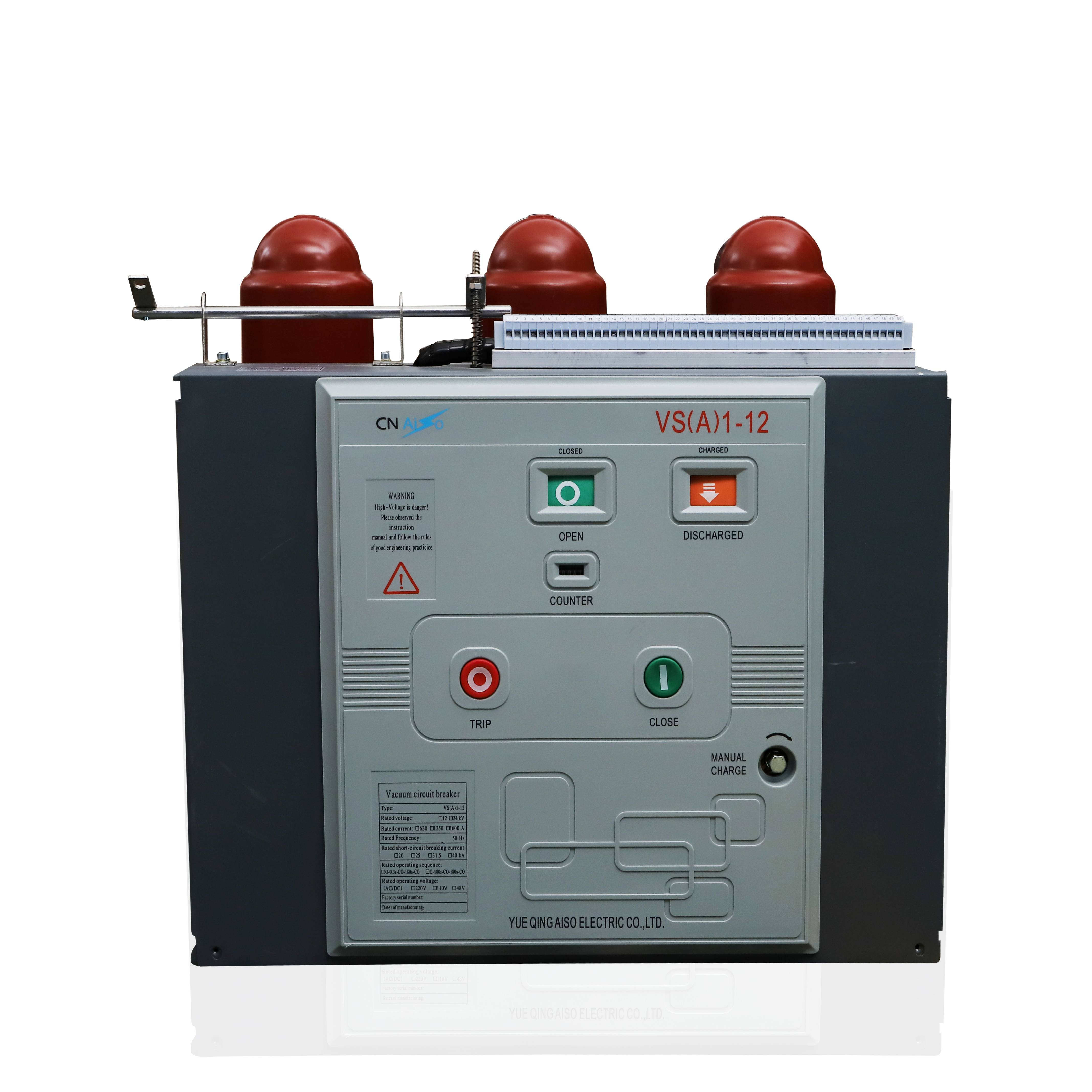 10-12kV Fixed type solid pole vacuum circuit breaker details