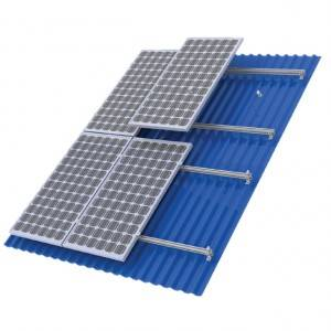 metal roof solar mount