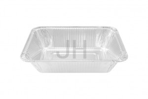 2018 New Style Aluminum Trays With Lids - Rectangular container RE998R – Jiahua
