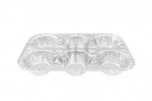 Hot Sale for Aluminum Disposable Food Containers - Aluminum Muffin Pan MUF250-6 – Jiahua
