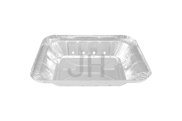 Fast delivery Aluminum Foil Disposable Food Containers - Rectangular container RE2100 – Jiahua