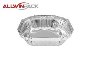 Square Foil Container AS250