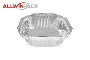 Square Foil Container AS340