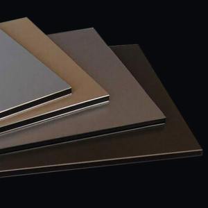 Antibacterial and antistatic aluminum plastic plate