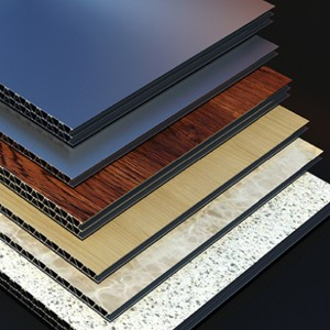 Aluminum Corrugated Composite Panel